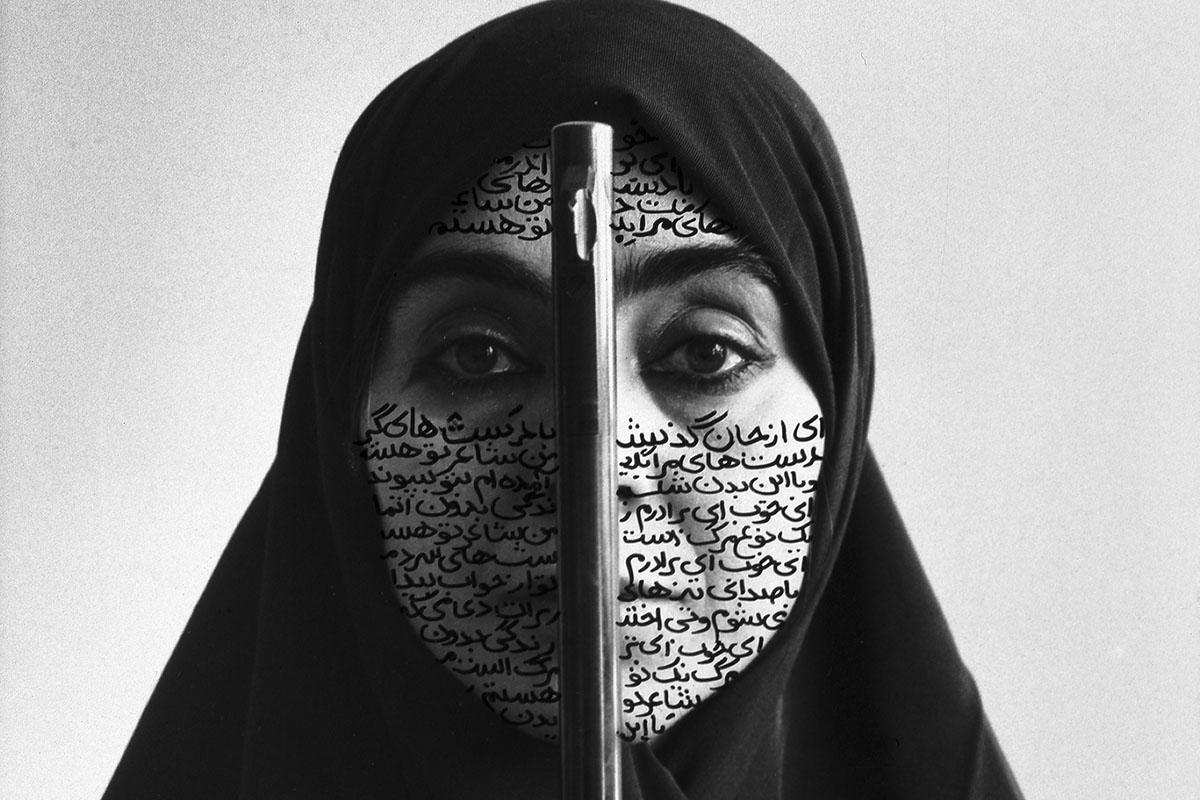 Shirin Neshat - Rebellious Silence, 1994, detail