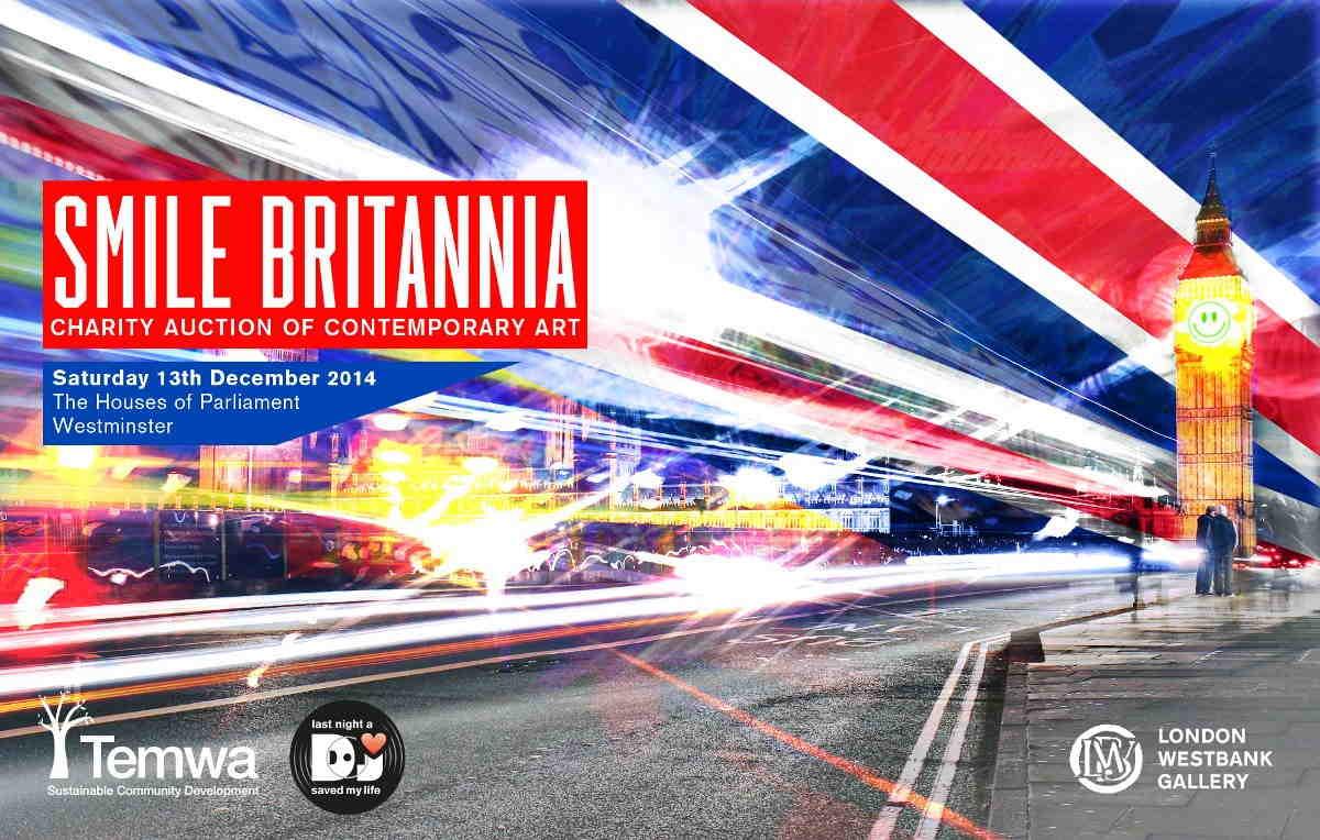 Smile Britannia 2014 flyer