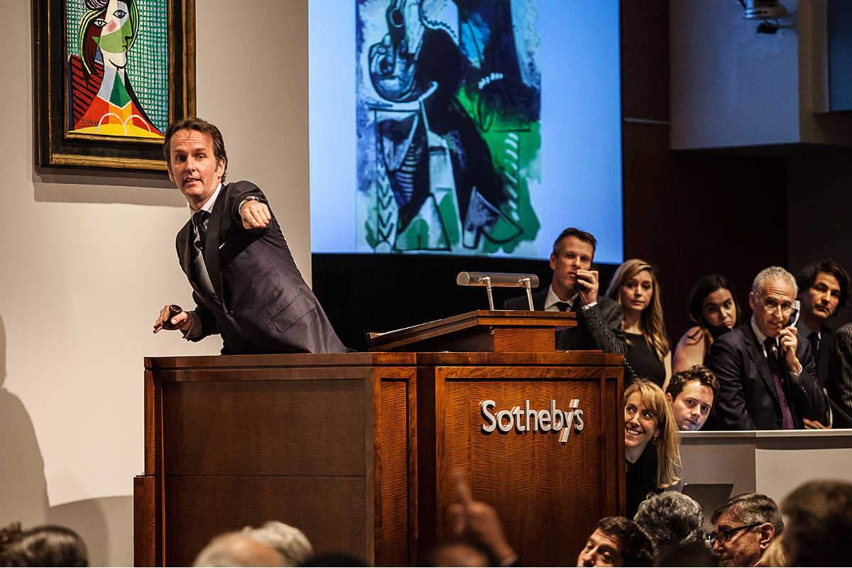 Sotheby's auction detail