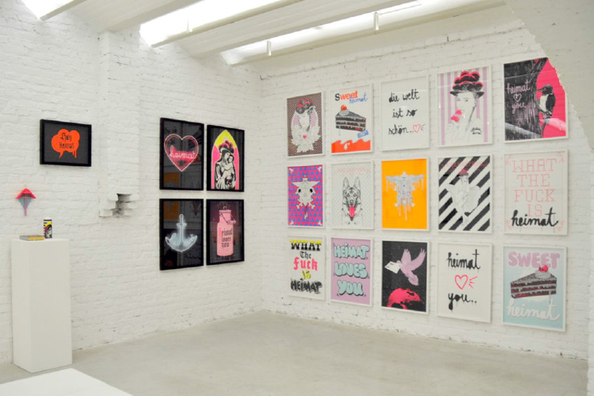 Stefan Strumbel - Screenprints, sculpture