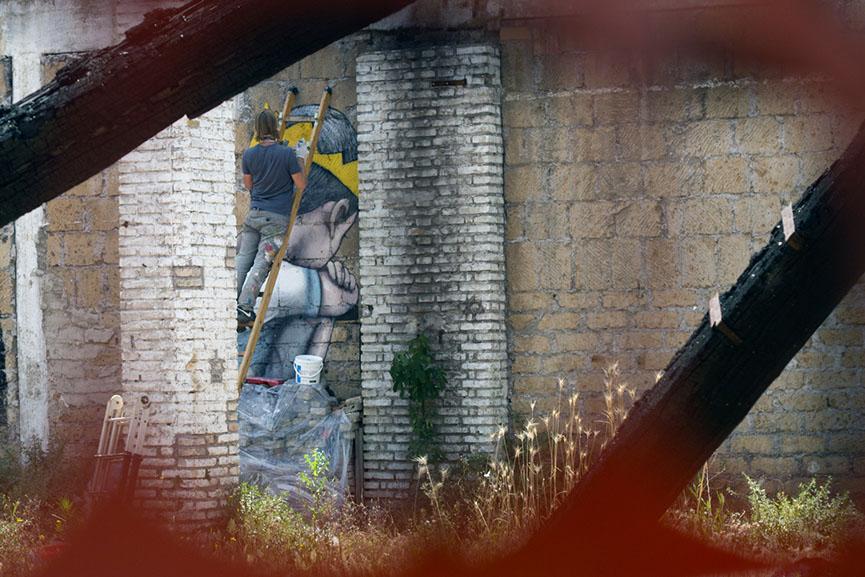 Street Artist Seth in Rome, 2016 1