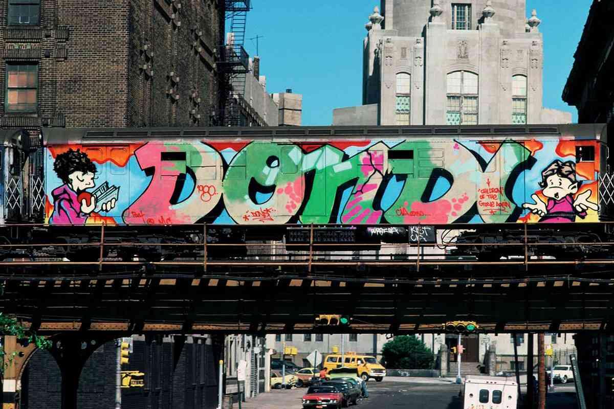Style Wars - Graffiti Film, Dondi