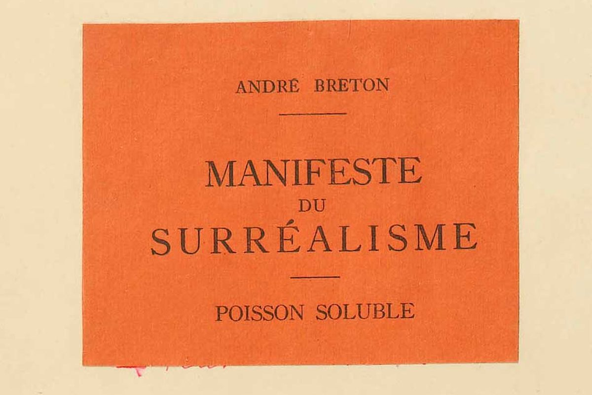 Surrealist Manifesto, via pinterest com