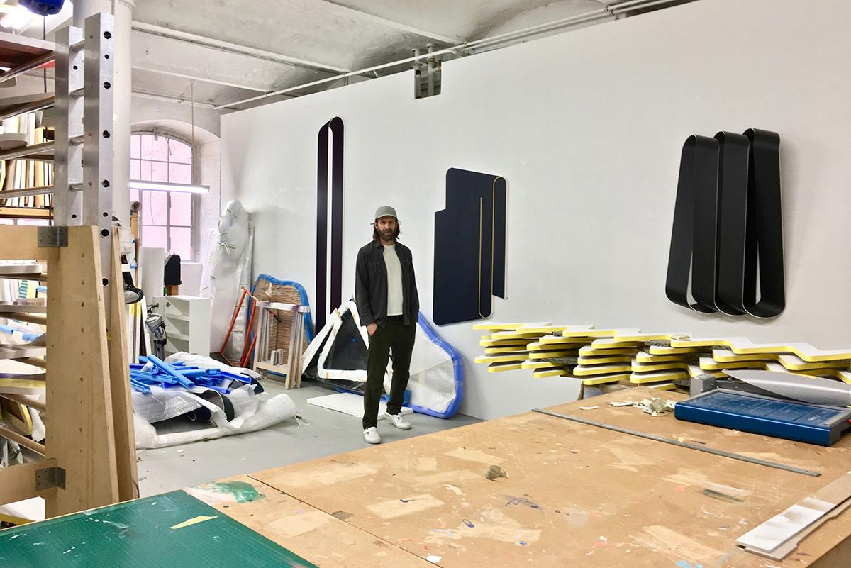 Terry Haggerty in the Studio