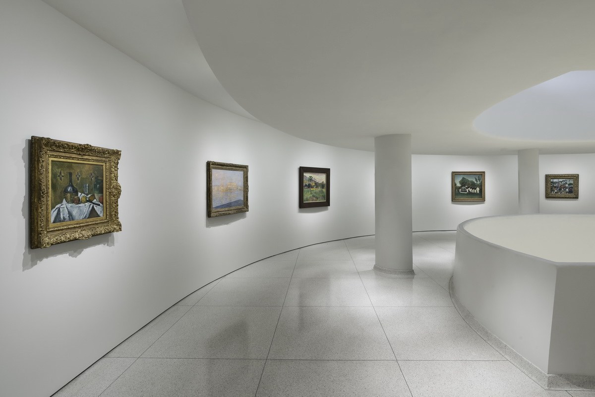 Thannhauser Collection Installation view