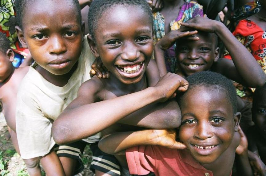 The Rainforest Foundation UK, Children from the Democratic Republic of Congo