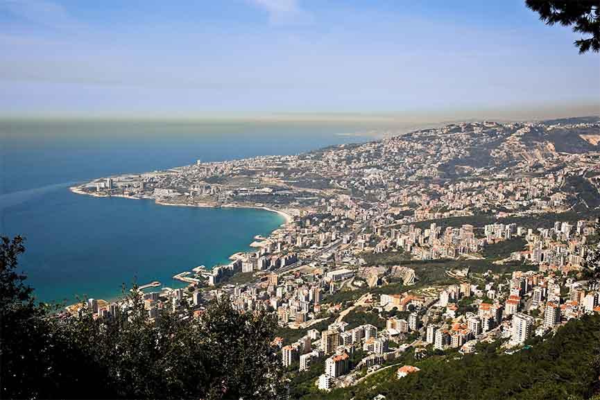The view of Beirut via christinaheydon com