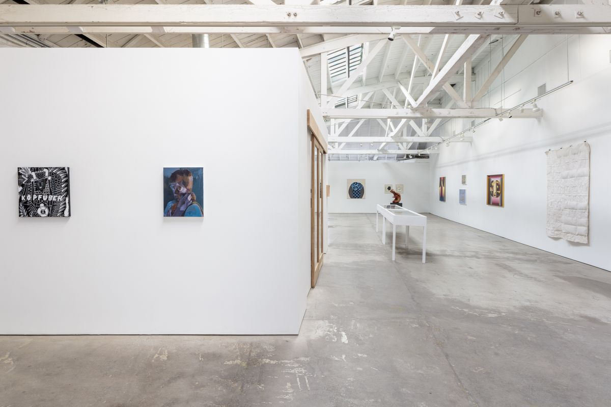 The installation view. Photo Charles White