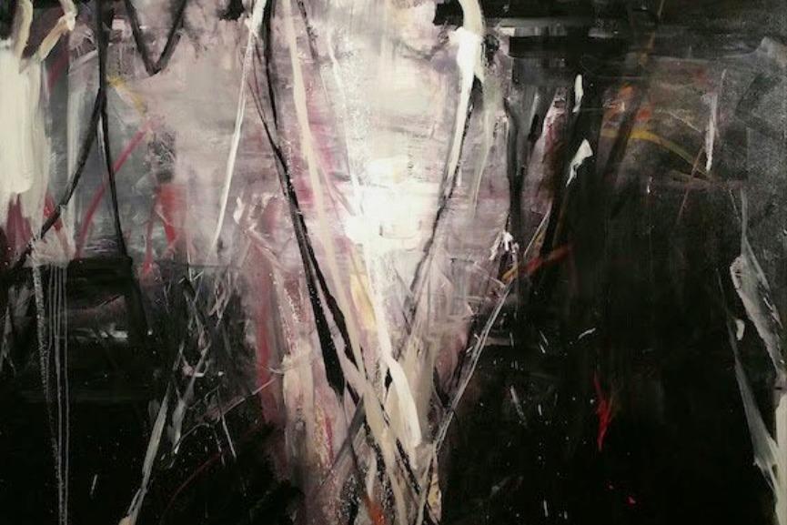 Tom Lieber - Moon Shield, 2016, detail