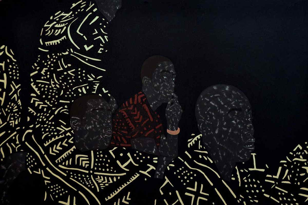 Toyin Odutola Artwork, via cinemakenya com