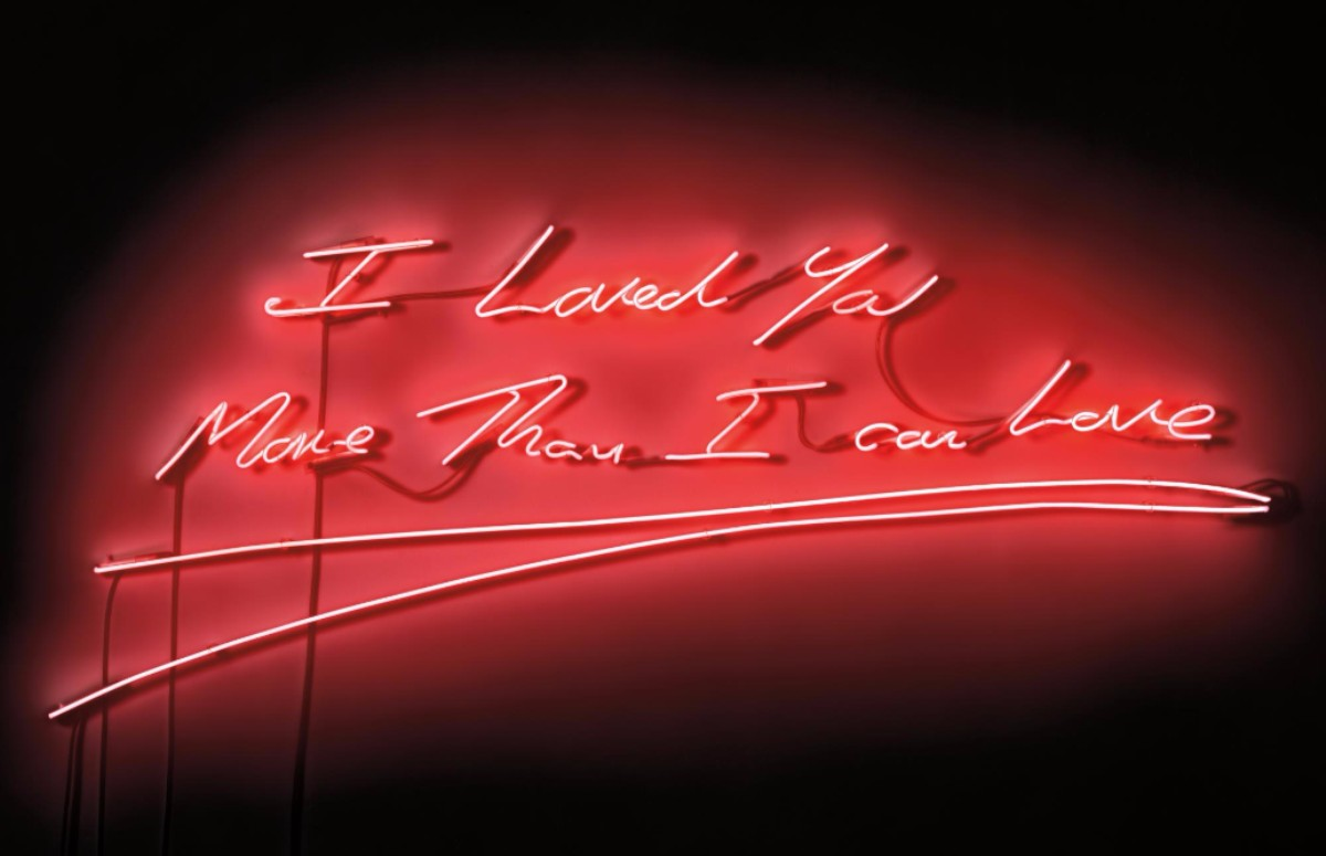 Tracey Emin - I Loved You More Than I Can Love (Lot 131)