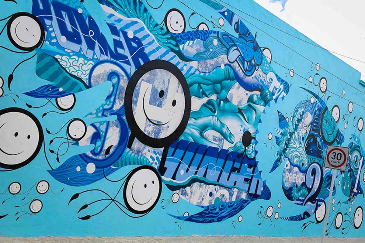 Tristan Eaton and The London Police  - Sea Walls - 2015 - Photo by Tre Packard