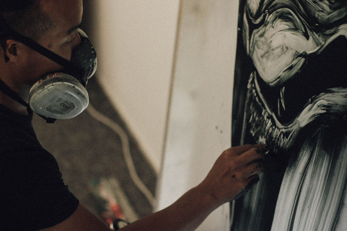 Twoone and Jun Inoue at Urban Spree by Christiania Krueger c
