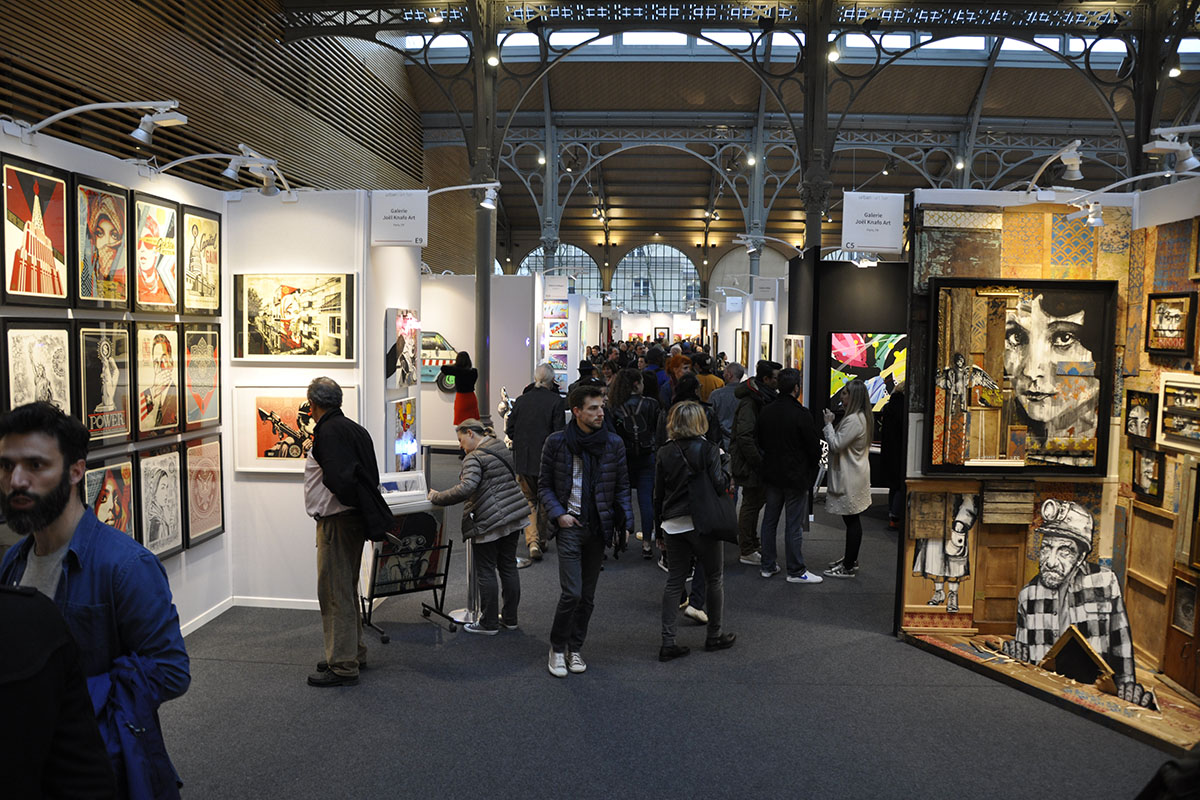 Urban Art Fair Paris 2018