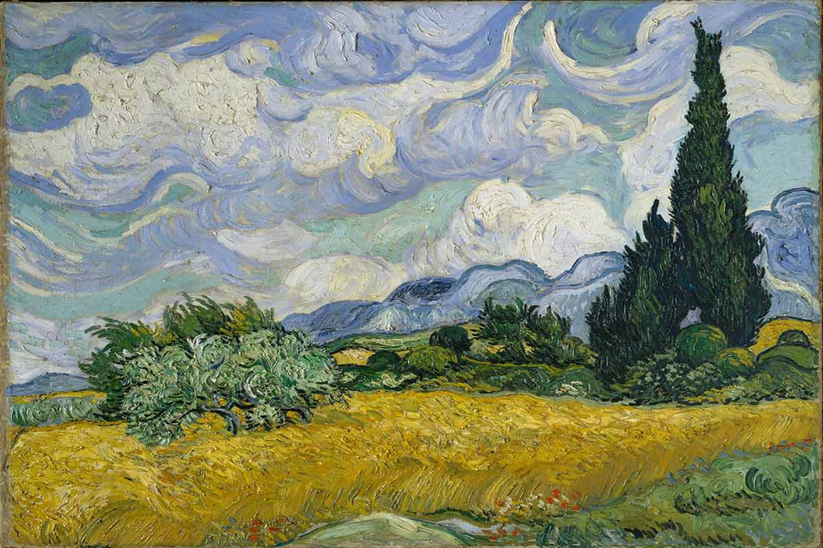 Vincent-van-Gogh---Whaet-Field-with-Cypresses.-Image-via-wikimedia.org