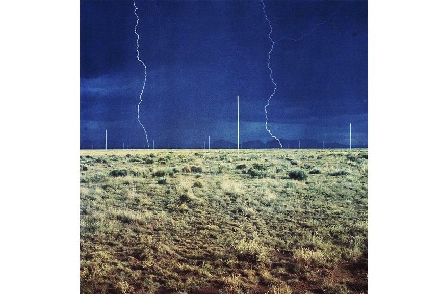 Walter De Maria - The Lightning Field, 1977