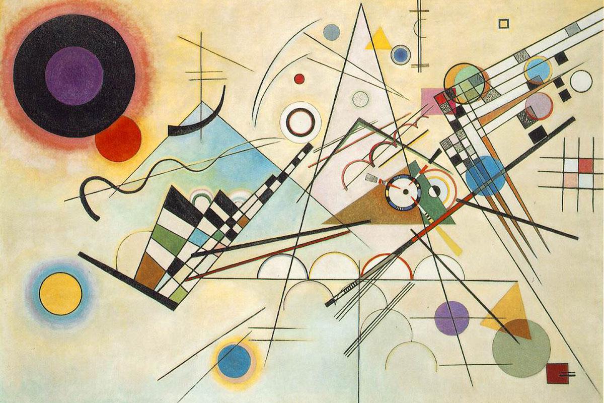 Wassily Kandinsky - Composition 8, 1923