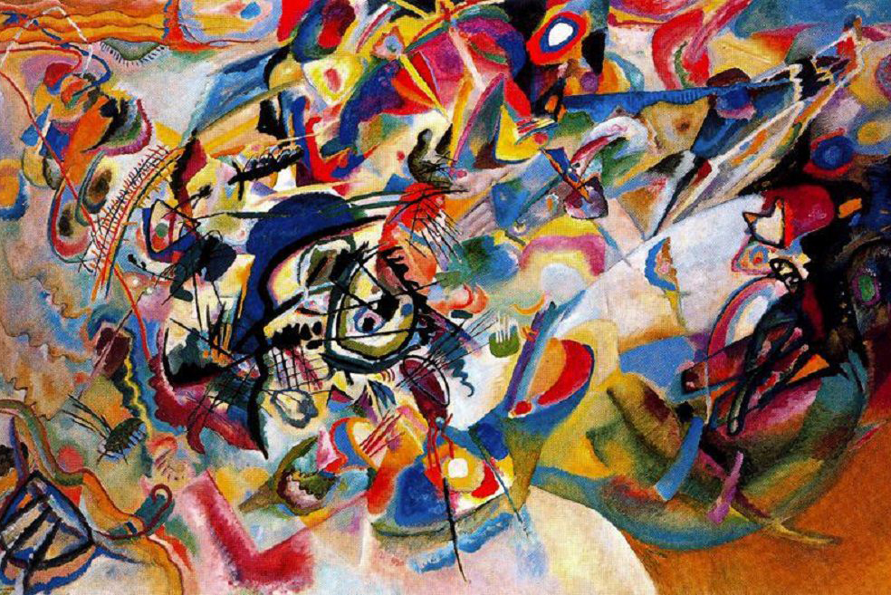 Wassily Kandinsky - Composition VII, 1913
