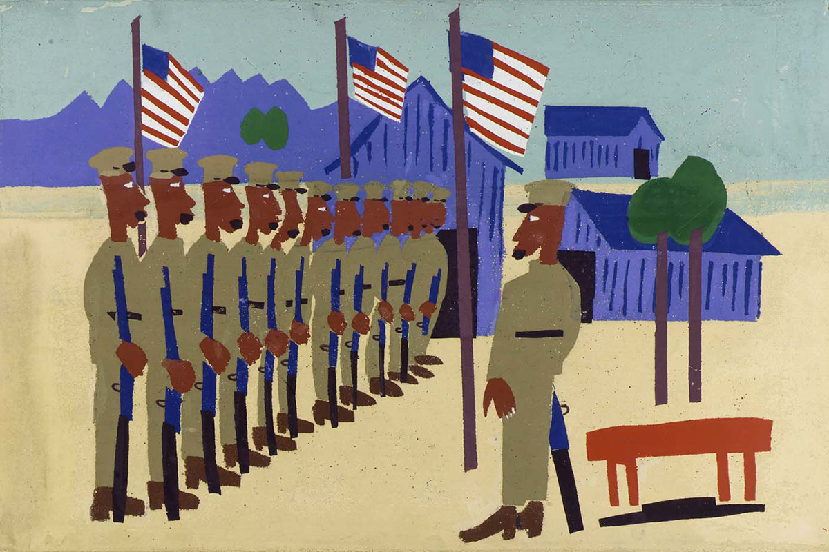 William H. Johnson - Training for War, 1941-42