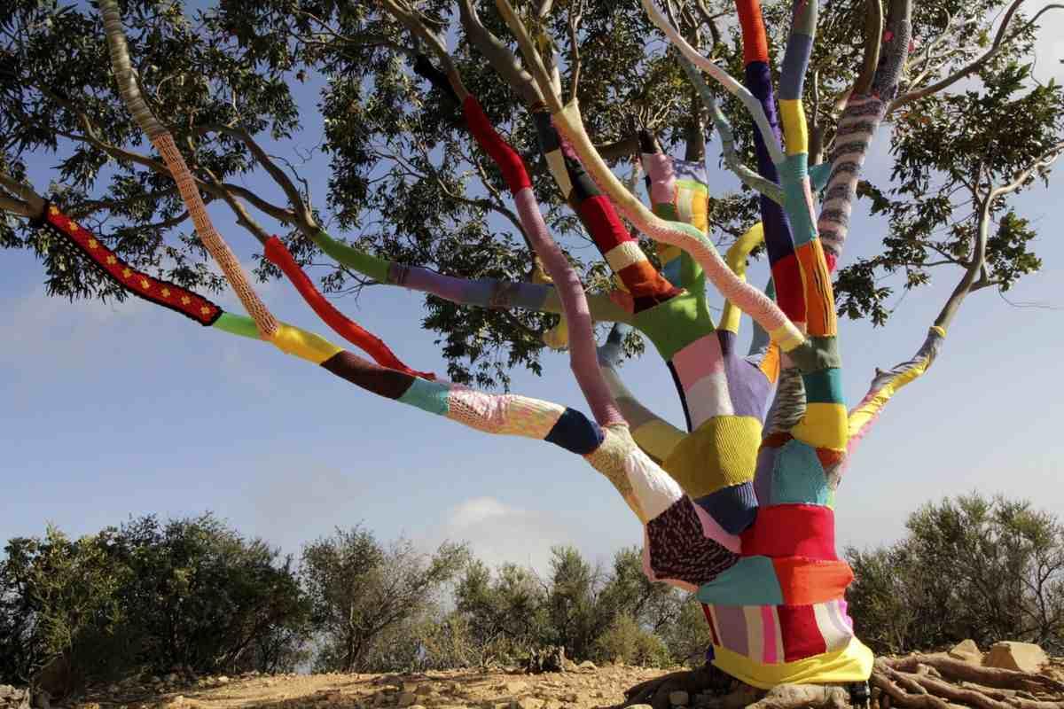 Yarn Bombing, via pinterest com