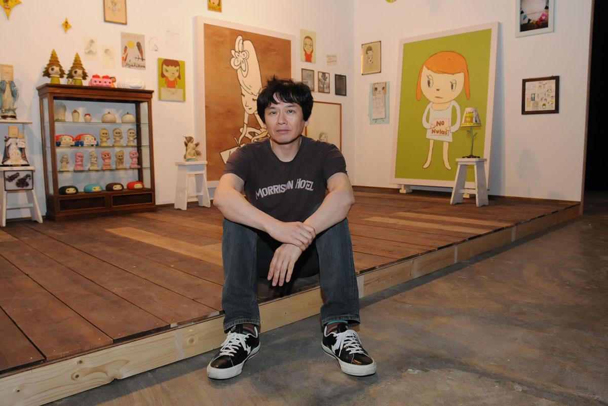Yoshitomo Nara. Image by Satoko Kawasaki via japantimes.co.jp