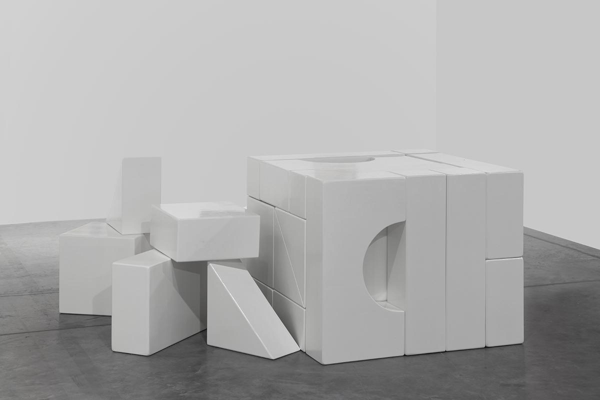 Yto Barrada - Jeu de construction Thérèse, (Thérèse Unit Blocks), 2017