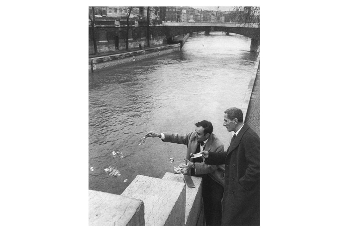 Yves Klein andDino Buzzati, Zone de Sensibilite Picturale Immaterielle, 1962