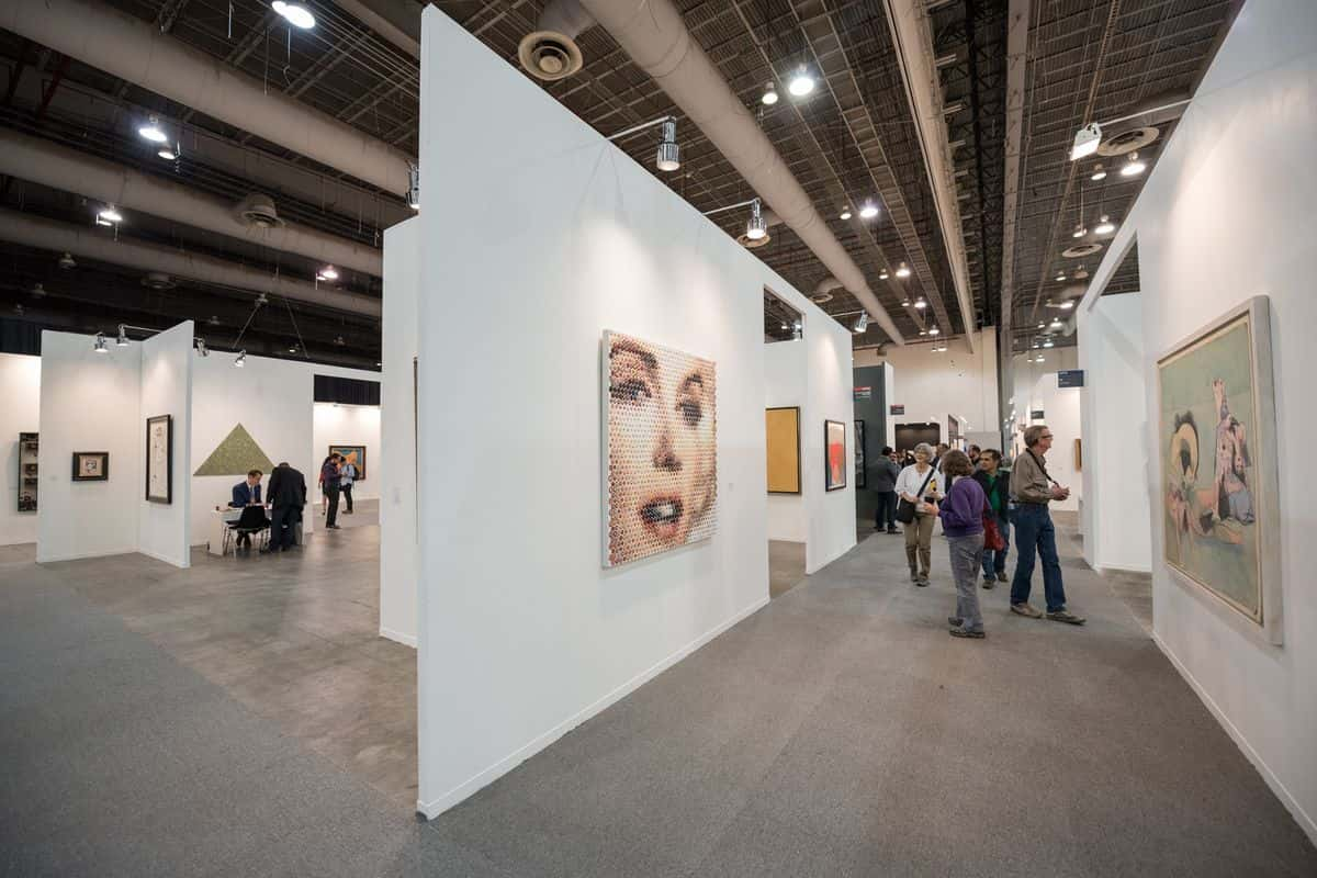 ZONAMACO México Arte Contemporáneo 2017. Photo by Mauricio Aguilar 7