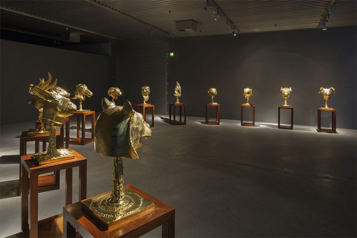 Zodiac Heads, Arken Museum of Modern Art, Skovvej, Denmark 1
