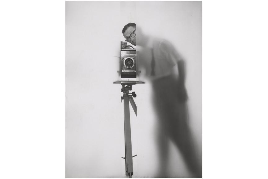 erwin-blumenfeld- Selfportrait new your 1950 via theredlistorg