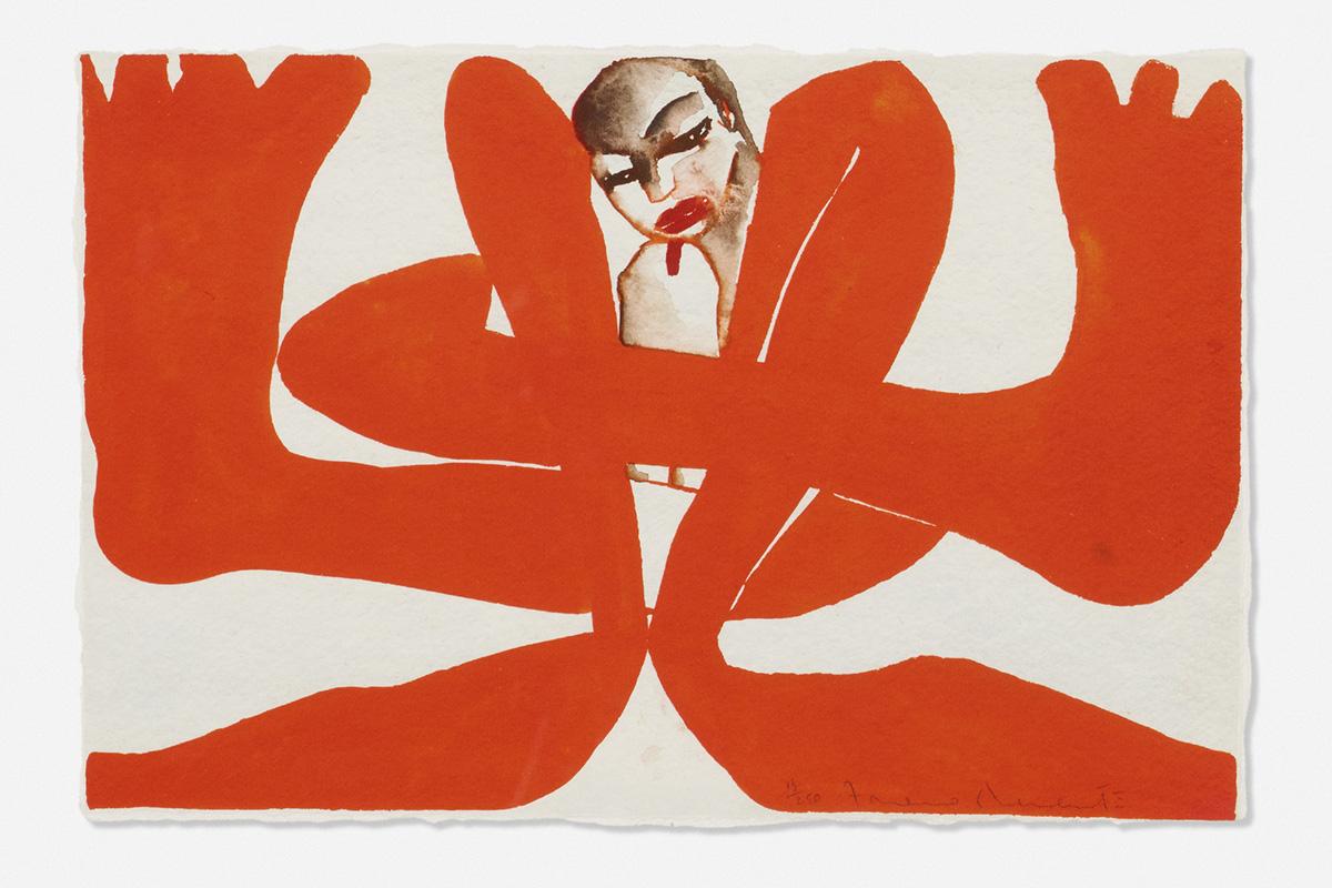 francesco-clemente-untitled-self-portrait1