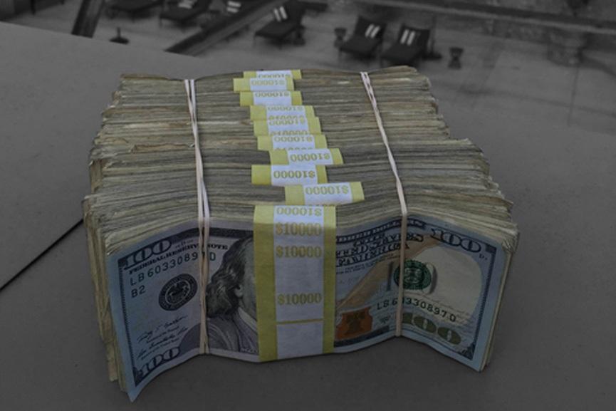 most famous artist - 100k dollars