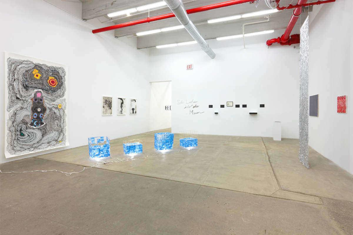 """The Radiants"", 2015, Bortolami Gallery , new_york_installation_view"