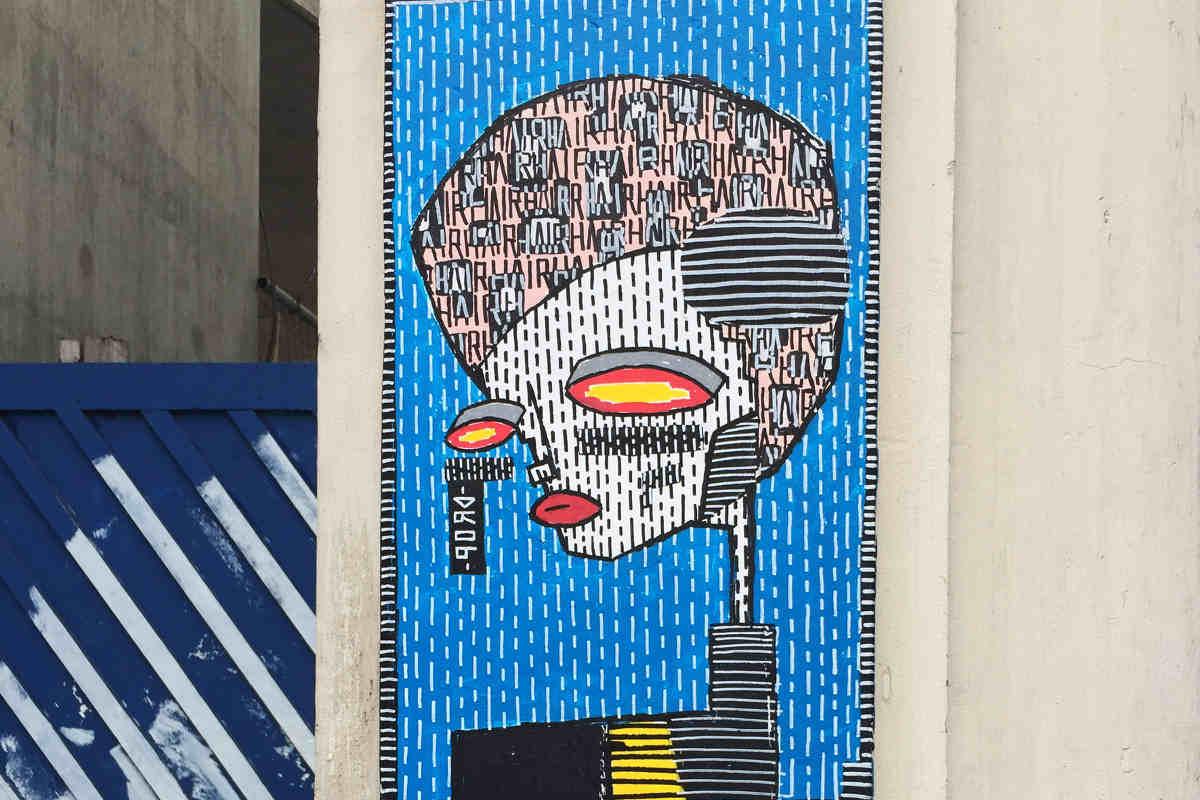 ALO - Blue Lady, London, UK 2015 (detail) Photo Credits © MVBC