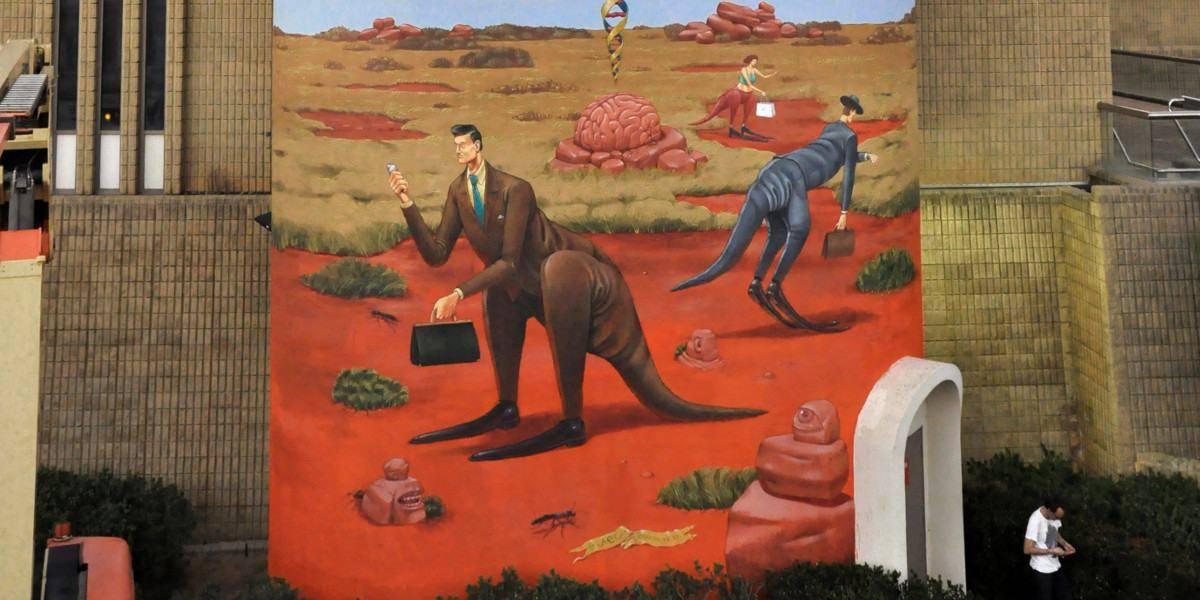 Aec Interesni kazki - Memory of the Land (detail), Perth, Australia, 2015, photo credits of the artist