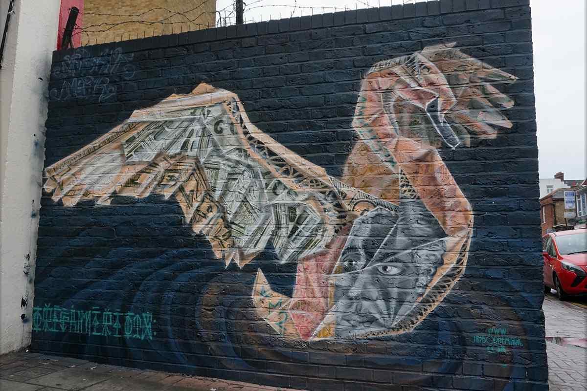Airborne Mark - Swan, in London, 2016
