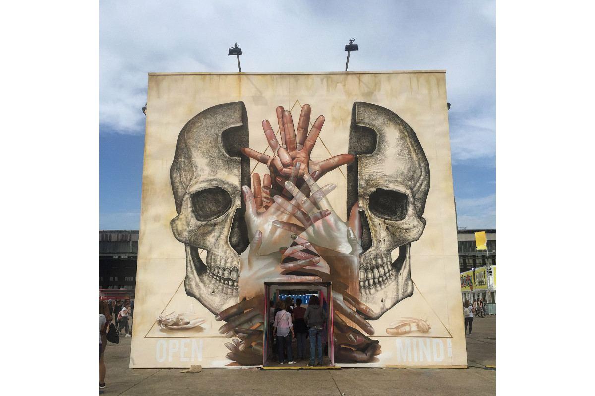 Alexis Diaz x Case Maclaim - Open Mind - Berlin, Germany, 2015
