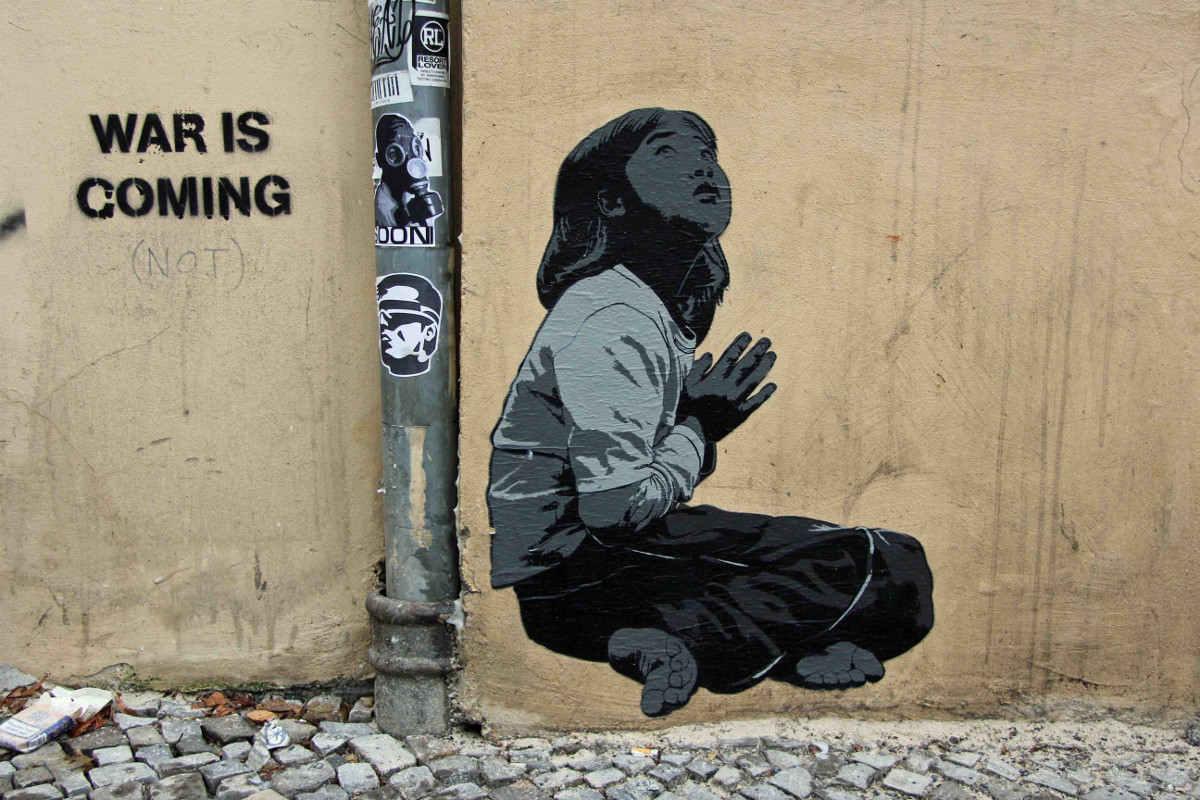 Alias, Praying, 2012, photo credits - andBerlin