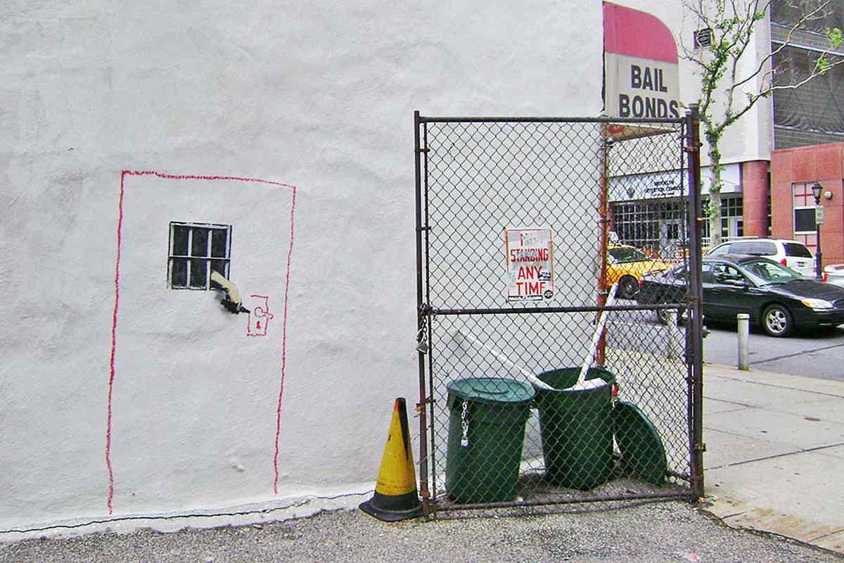 Banksy - Bail Bonds, New York 2010