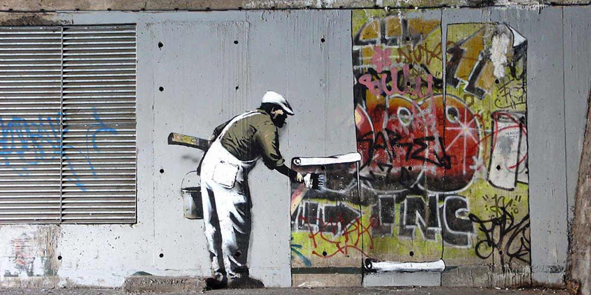 Banksy - Robbo, Camden 2009