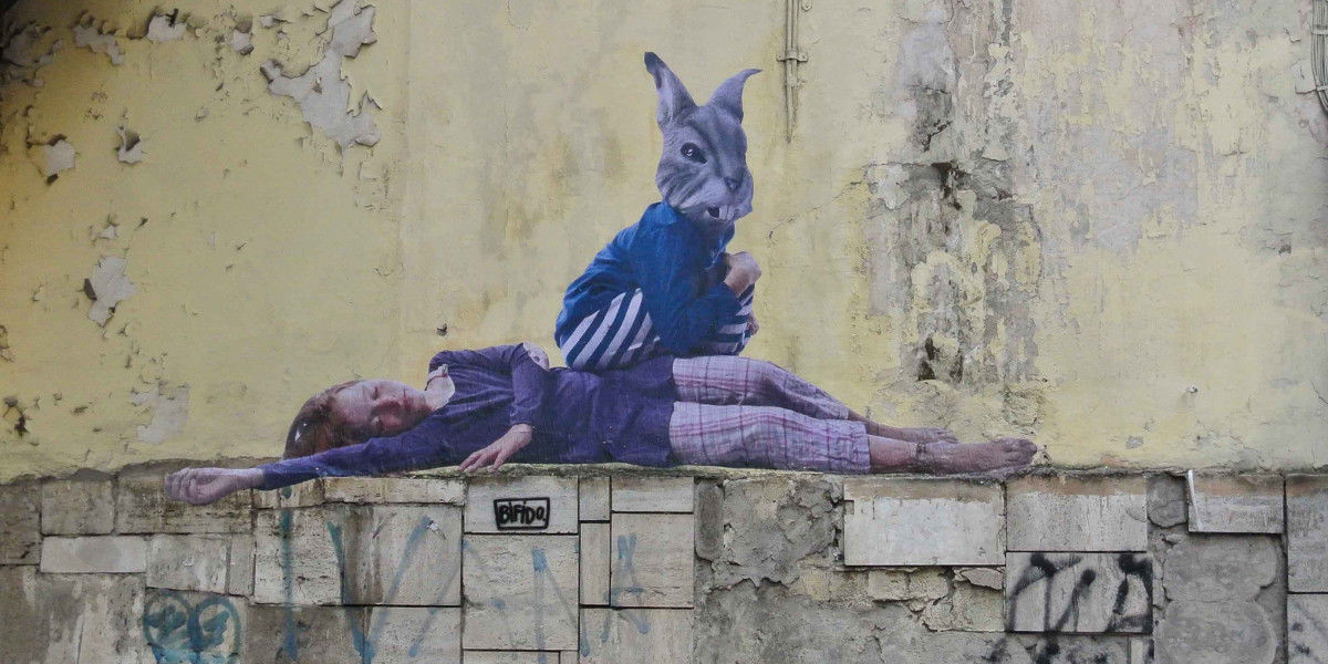 Bifido - Good Night and Good Luck, Naples, Italy, 2016 - image courtesy of the artist