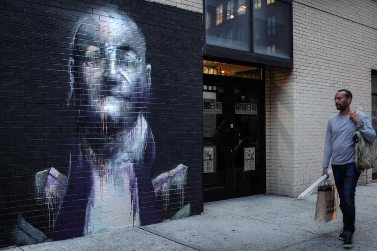 Conor Harrington - Soho, New York (photo by Ian Cox), 2012