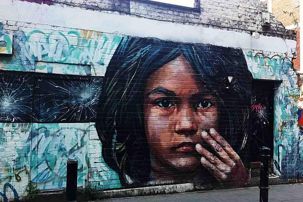 Cosmo Sarson - Girl, London, 2011