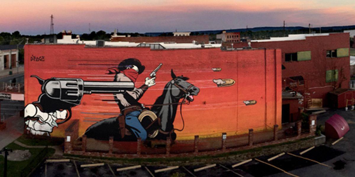 DFace - Badlands - Fort Smith, Arkansas, 2015 - 1