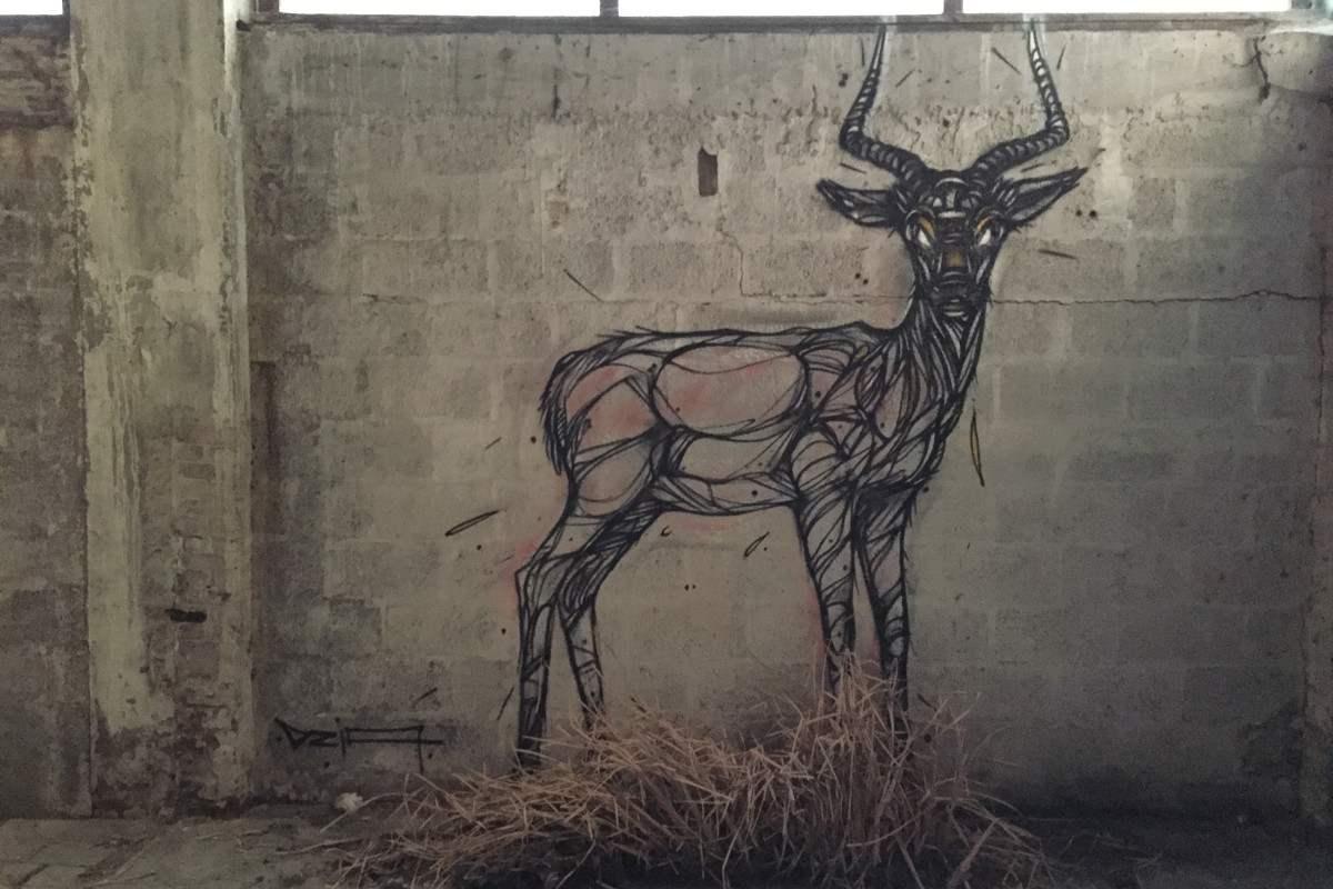 DZIA - LaLa Impala mural - 2015