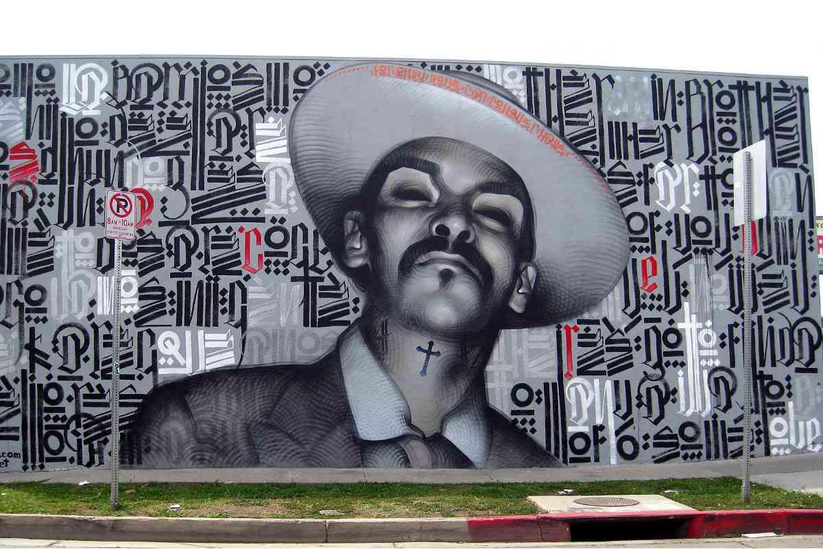 El Mac x Retna - Chesapeake Avenue, Los Angeles, 2009