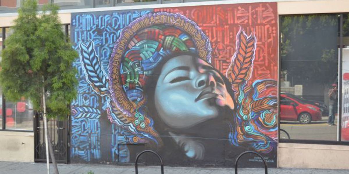 El Mac x Retna - Los Angeles, 2010