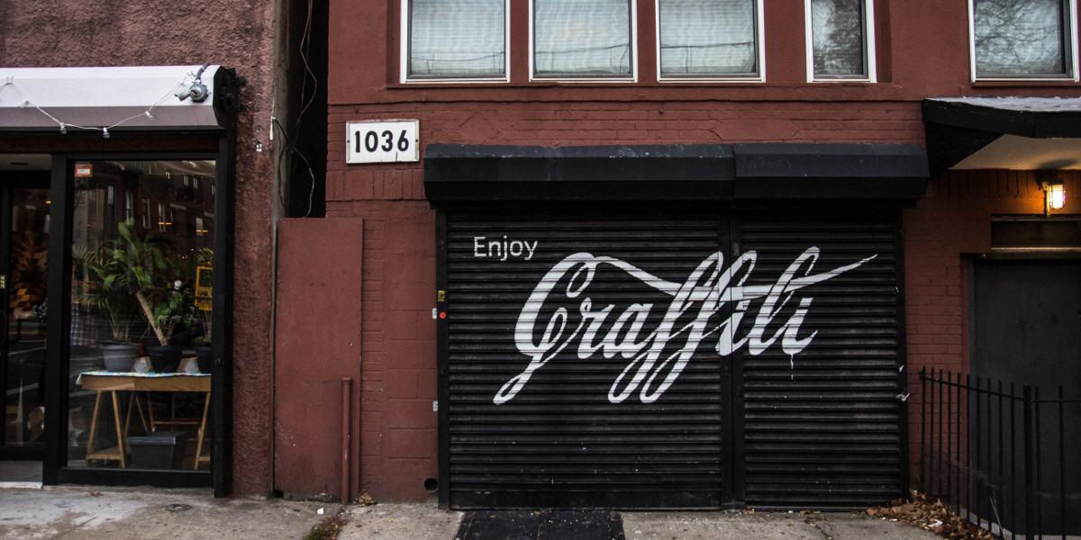 Ernest Zacharevic - Enjoy Graffiti - Photo Credit Ernest Zacharevic