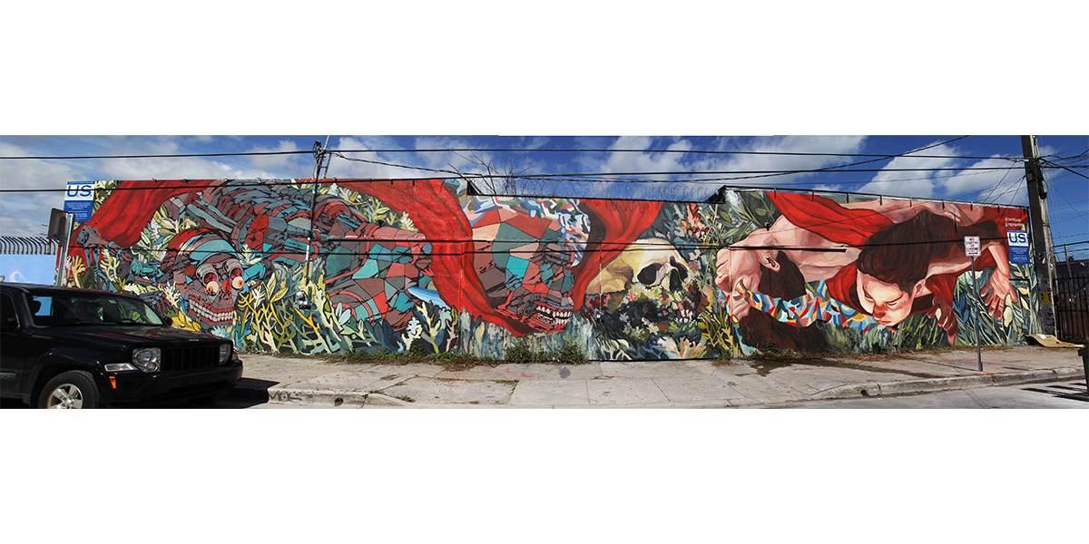 Ever - LA LLEGADA, Collaboration with SMITHEONE, Wynwood, Miami, 2014