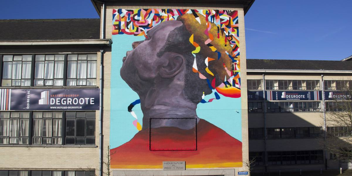 Ever - Tribute to past and future, Oostende, Belgium, 2016, photo credits - artist
